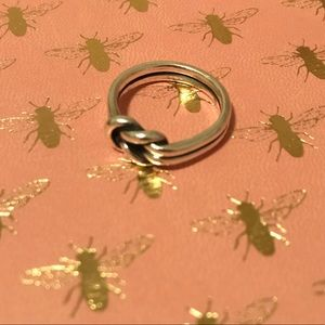 Lover's knot JAMES AVERY RING 7.5